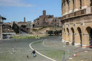Roma: Colosseo e Fori ai tempi del Coronavirus