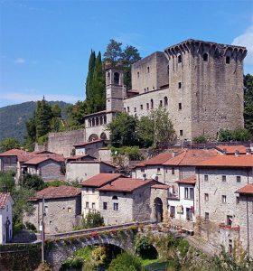 Il castello della Verrucola dove nacque Spinetta Malaspina il Grande nel 1282
