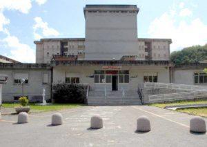 Ingresso dell'ospedale di Pontremoli