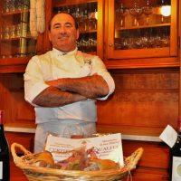 Comano: lo chef Ferrari sbarca in Tv con testaroli e lasagnette