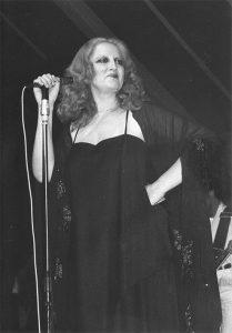 """Mina a """"Bussola Domani"""" nell'agosto 1978"""