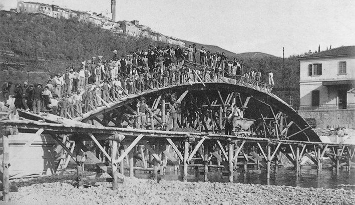Il ponte di Albiano nella storia dell'ingegneria