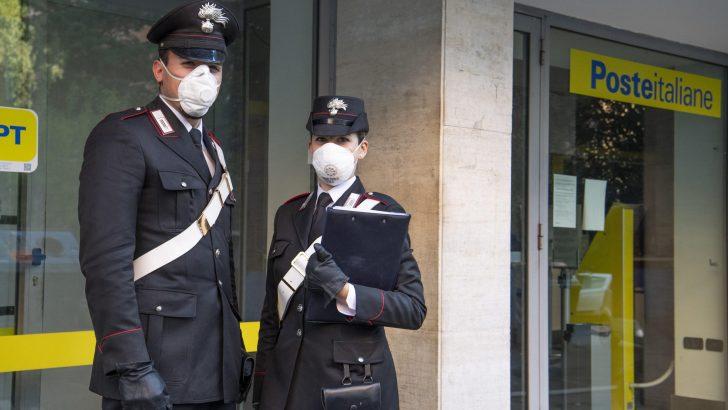 Pensioni: si possono delegare i carabinieri a recarsi agli uffici Postali