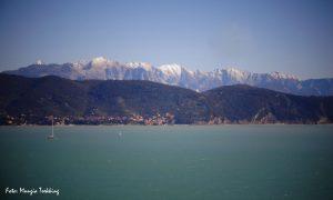 Le Alpi Apuane dalla Palmaria