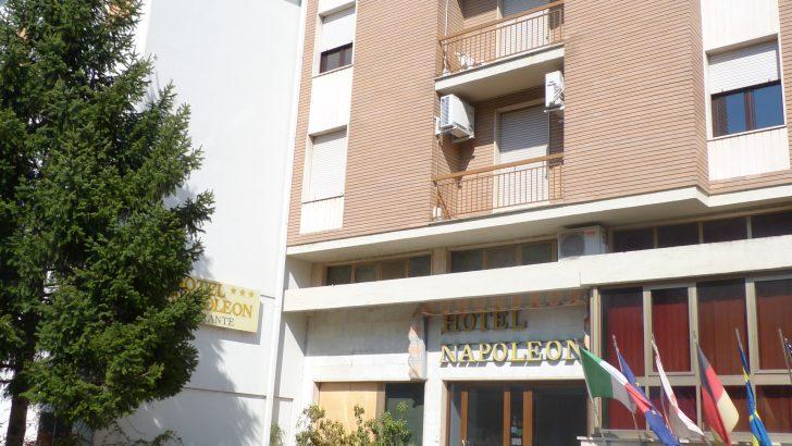 L'Hotel Napoleon ospiterà i pazienti in via di guarigione da Coronavirus
