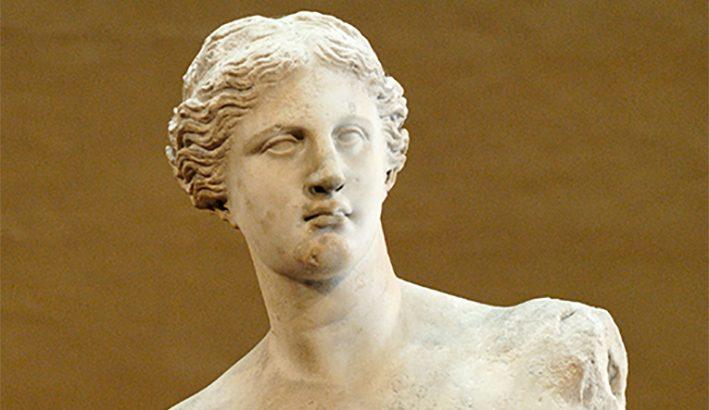 La Venere di Milo: dallo scavo  alla corte di re Luigi XVIII