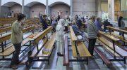 Fedeli di nuovo in chiesa alle celebrazioni liturgiche