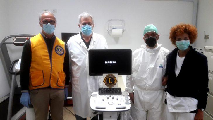I Lions aiutano gli ospedali della Lunigiana