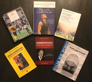 I sei libri finalisti della 57a edizione del Premio Bancarella Sport