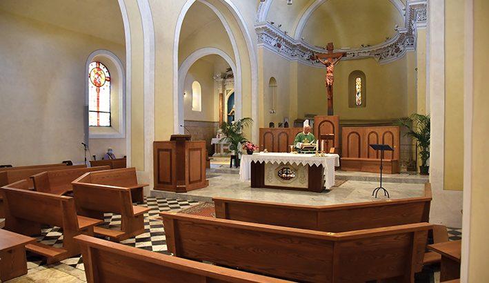 Rinnovati gli arredi dell'abbazia di san Caprasio ad Aulla