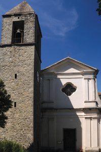 La chiesa parrocchiale di Gavedo a Groppoli di Mulazzo