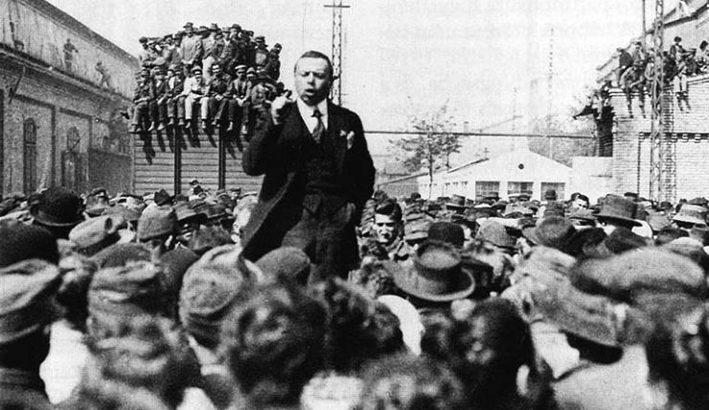 Le imponenti agitazioni del biennio rosso dopo la Grande Guerra