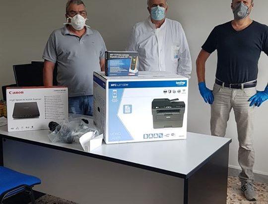 Filattiera: dalla Rocca e Lusignana donate attrezzature per l'ospedale