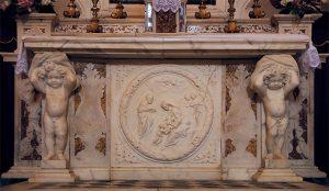 Il bell'altare nell'oratorio di Sant'Anna