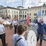La presenza della Musica Cittadina Pontremoli (Foto Massari)