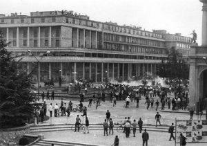 Manifestazioni a Reggio Emilia il 7 luglio 1960