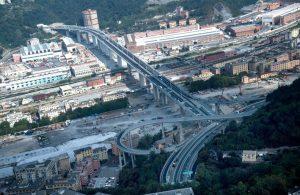 Il nuovo ponte di Genova, San Giorgio (foto Ansa/SIR)