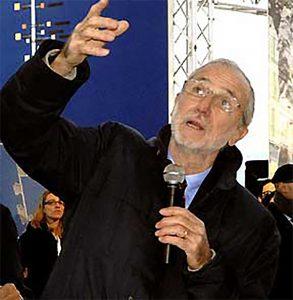 L'arch. Renzo Piano
