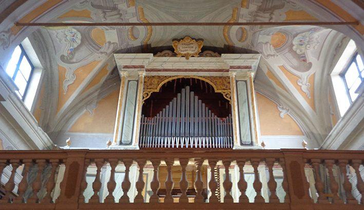 Sono tornate a risuonare le note dall'antico organo di Montelungo