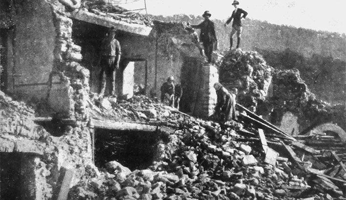 Il 7 settembre 1920 il terremoto scuote tutta la Lunigiana