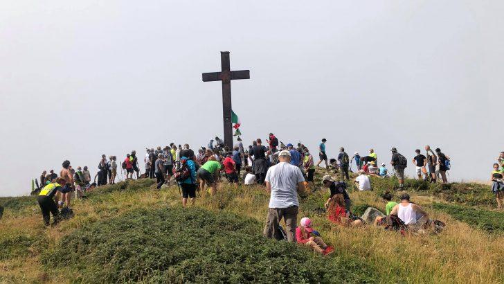 Ricollocata sulla vetta del Marmagna la statua della Madonna