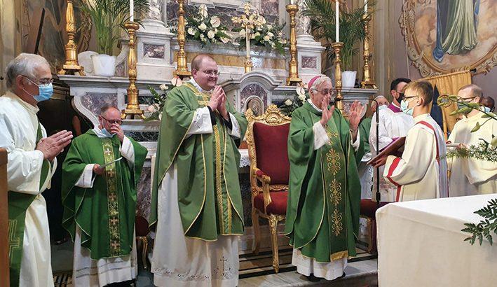 Don Fabio Arduino è il nuovo parroco di Albiano