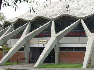 Il Palazzetto dello Sport progettato da Vitellozzi e Nervi per le Olimpiadi di Roma