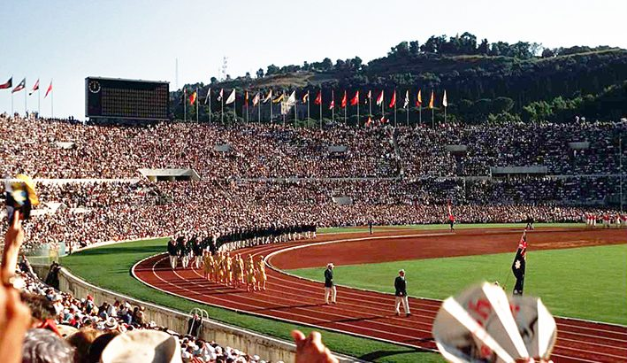 Olimpiadi di Roma 1960: la forza di ricostruzione  dell'Italia democratica