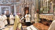 """La Diocesi a Montenero: """"Ai piedi di Maria per chiedere  l'aiuto della sua protezione"""""""