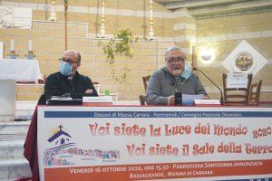 Don Maurizio Iandolo (a sn.) e don Pietro Pratolongo