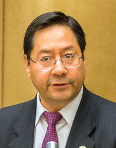 Luis Arce, esponente del Movimento per il Socialismo
