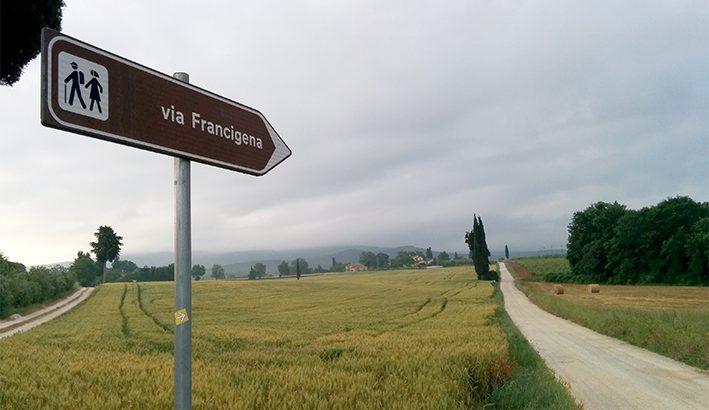 La Francigena per il pellegrino di ieri e di oggi
