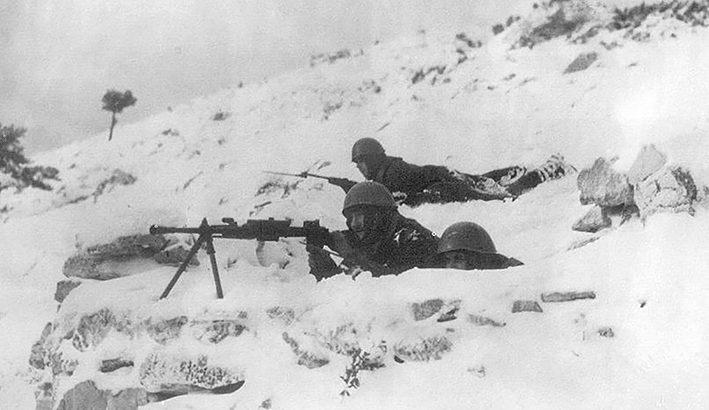 Ottobre 1940: l'invasione italiana della Grecia
