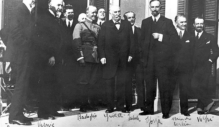 Il Trattato di Rapallo completò il progetto  risorgimentale