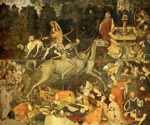 Il Trionfo della Morte. Palermo, Galleria regionale di Palazzo Abatellis