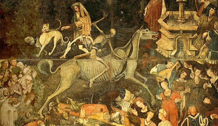 La peste nera del 1348  narrata dal Boccaccio