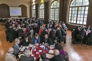 Il V Convegno Ecclesiale Nazionale a Firenze nel novembre 2015. I gruppi di lavoro Foto Agenzia Romano Siciliani/s