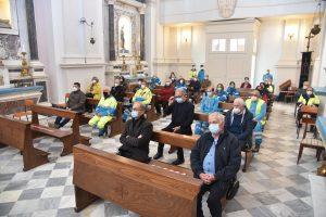 La partecipazione alla S. Messa in onore della Madonna di San Luca