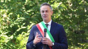 Il sindaco di Fivizzano, Gianluigi Giannetti
