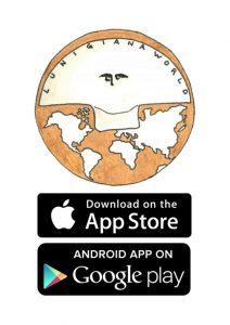 """Il logo della App """"Lunigiana world"""""""