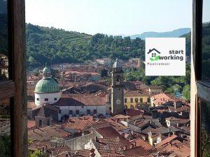 L'immagine di presentazione del progetto di Smart working lanciato da Farfalle in Cammino