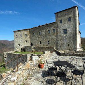 Il castello dell'Aquila a Gragnola