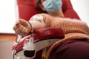 Un donatore di sangue