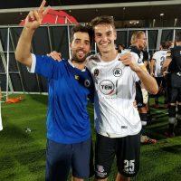 Mirko Balestracci, un lunigianese in mezzo al sogno dello Spezia
