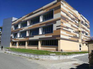 "La sede del liceo ""da Vinci"""