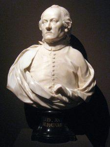 G. A. Cybei, Ludovico Antonio Muratori. Modena, Galleria Estense