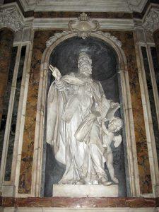Giovanni Antonio Cybei, Sant'Agostino. Sarzana, Cattedrale
