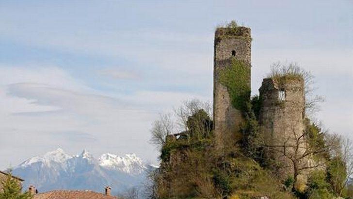 """Lavori al Giovagallo, il """"castello di Dante"""""""