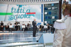 Il presidente della Repubblica, SergioMattarella, in occasione dell'apertura dell'anno scolastico il 14 settembre scorso