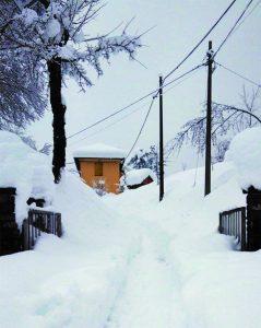Neve al passo della Cisa